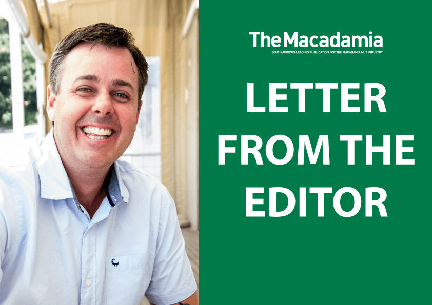 Letter from the editor – Autumn 2019