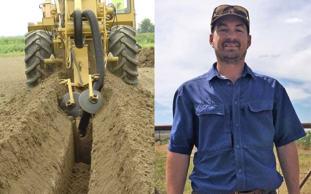 Reduce waterlogging through subsurface drainage and increase tree health and yield